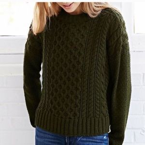 BDG Honeycomb Cable Knit Sweater